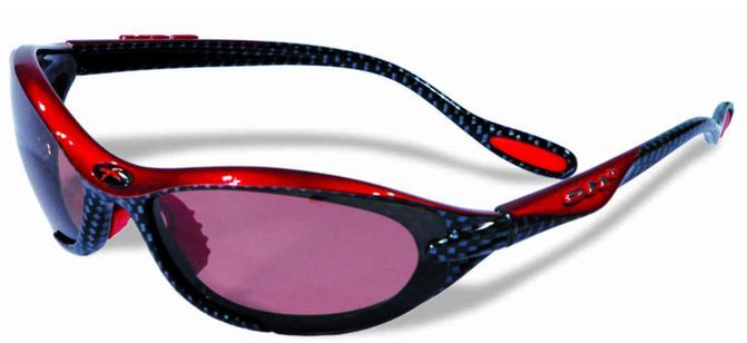 Okuliare SH+ RG-4010 polarized carbon/red