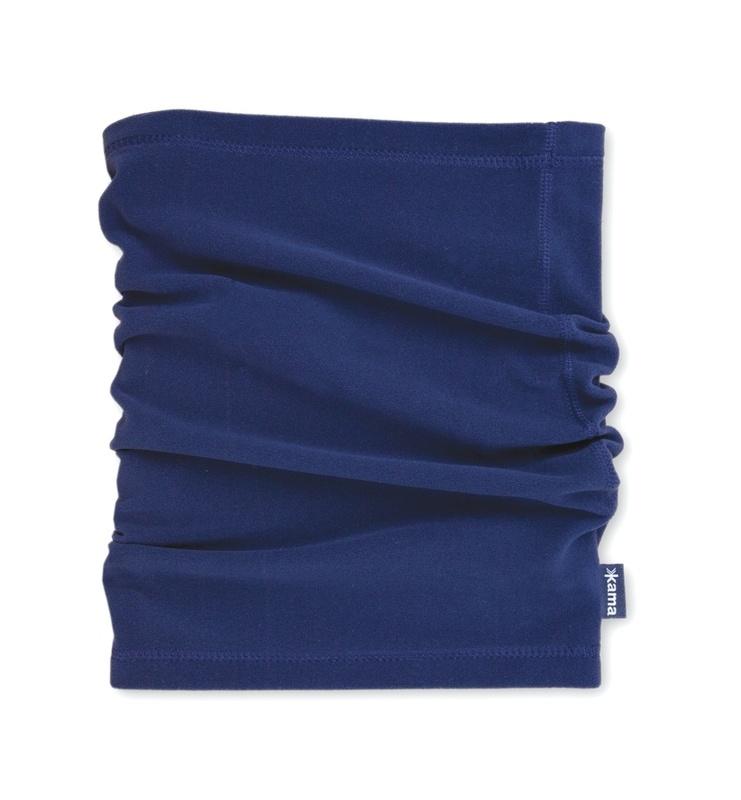 Fleecový nákrčník Kama S01 108 tmavo modrá