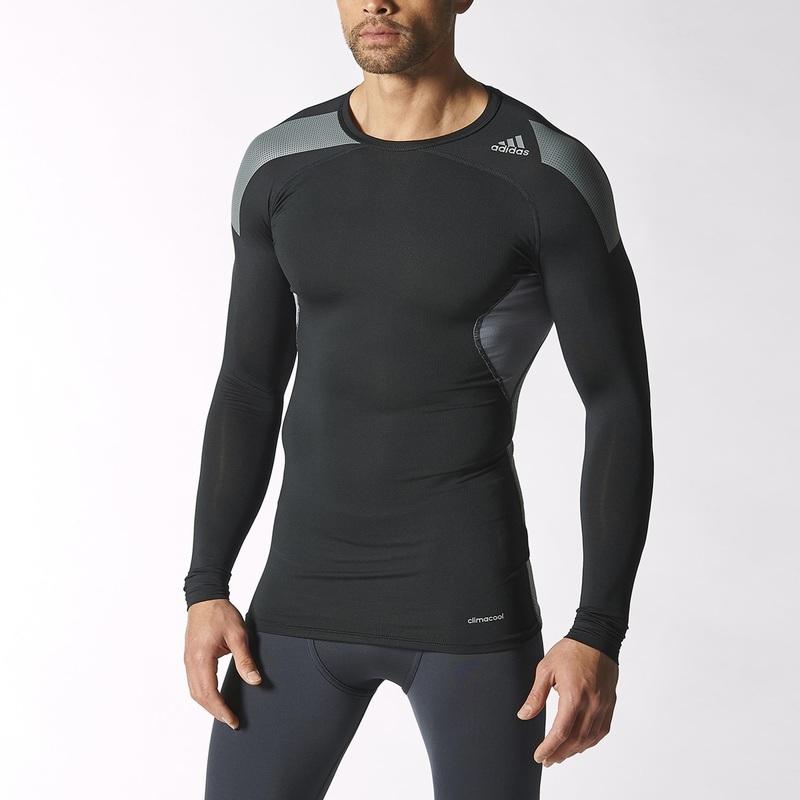 Tričko adidas TechFit Long Sleeve Tee S19450