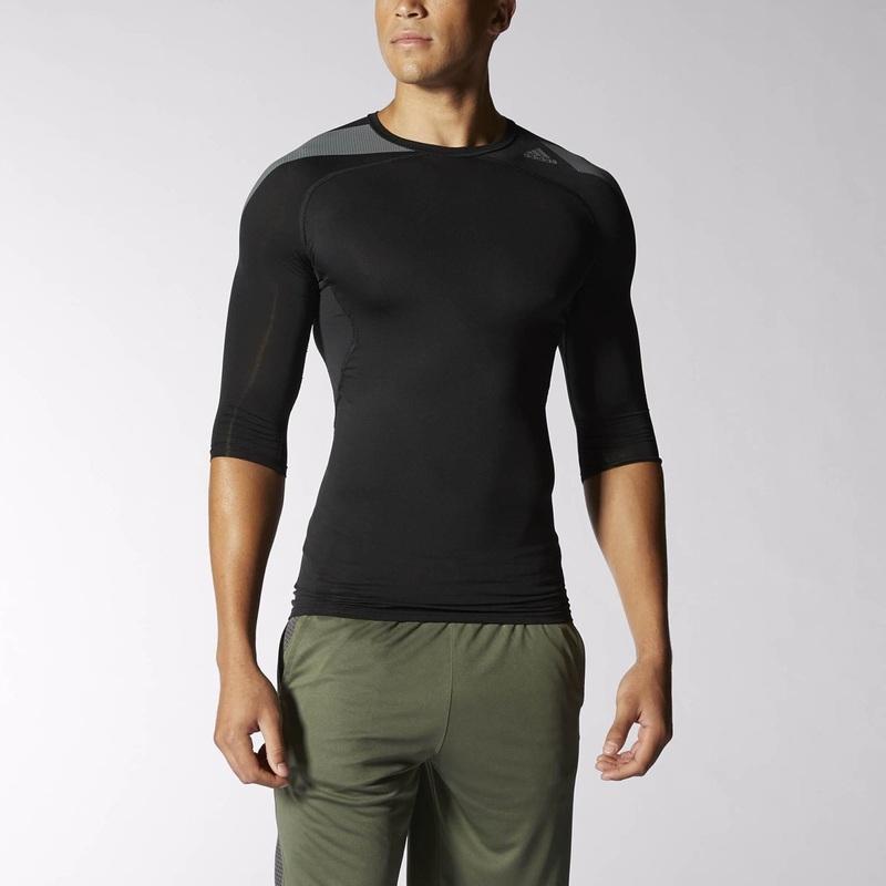 Tričko adidas Infinite Series TechFit Cool 3/4 Tee S20424