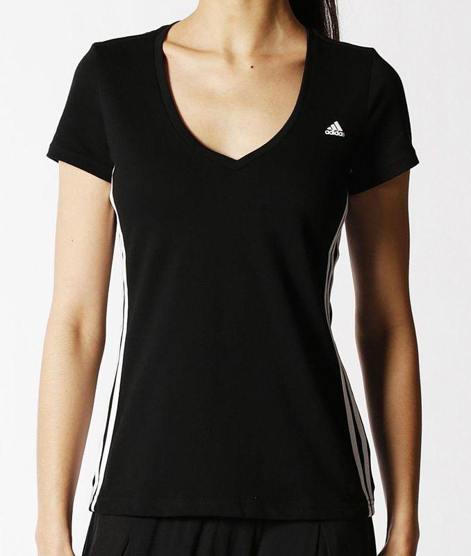Tričko adidas Essentials Mid 3S Tee S88573