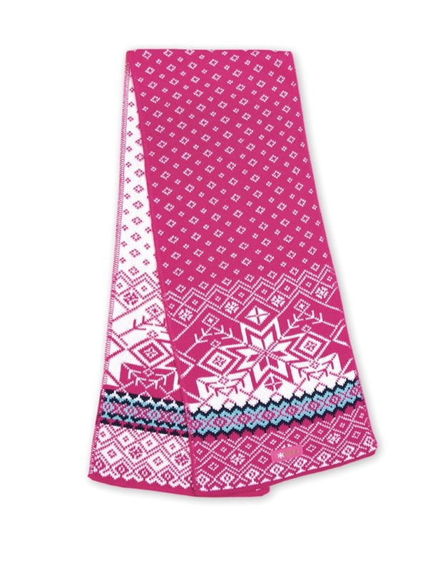 Pletená šál Kama SB06 114 ružová