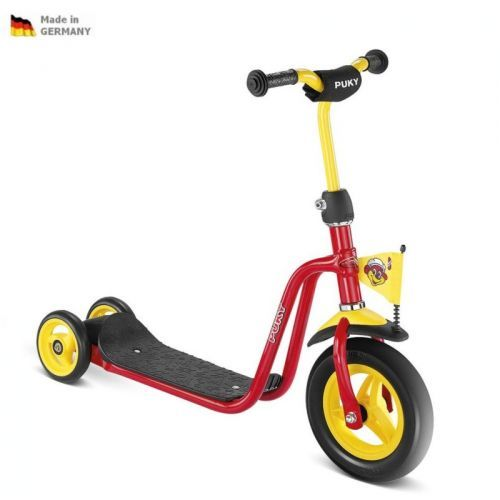 NOVÝ MODEL - Detská červená kolobežka SCOOTER R1 PUKY 5163