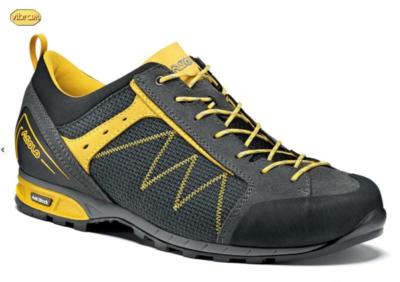 Topánky ASOLO Ozonic Graphite   Mimosa A491 - gamisport.sk 7e78e8d9e2e