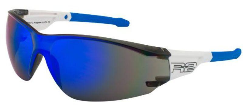 Športové slnečné okuliare R2 Alligator bielo modré AT087C - gamisport.sk 92219973602