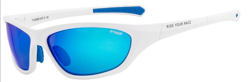 1de2321cb Športové slnečné okuliare R2 Buddy biele AT093B - gamisport.sk