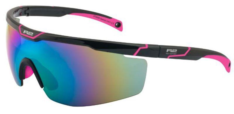 Športové slnečné okuliare R2 Speedy čierno ružové AT088B - gamisport.sk 2e634c369e6