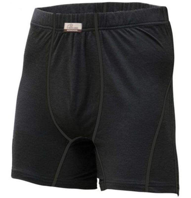 vlnené boxerky Lasting Nico 9090 čierna XXL