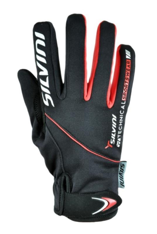 Dámske rukavice Silvini ORTLES WA723 black-red L