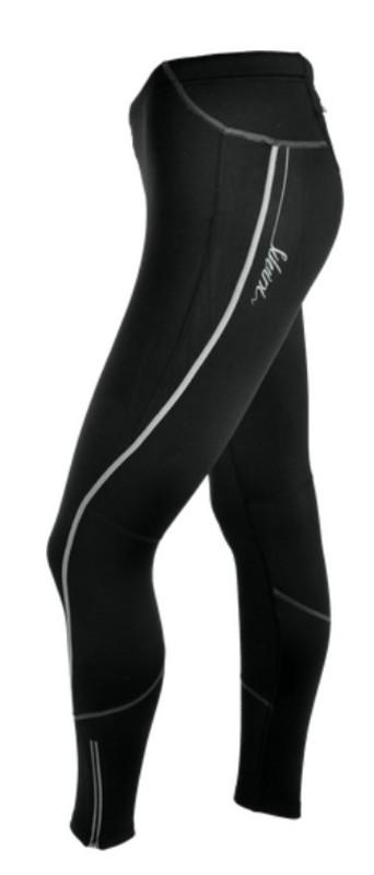 Dámske elastické zateplené nohavice Silvini RUBENZA WP1120 black S