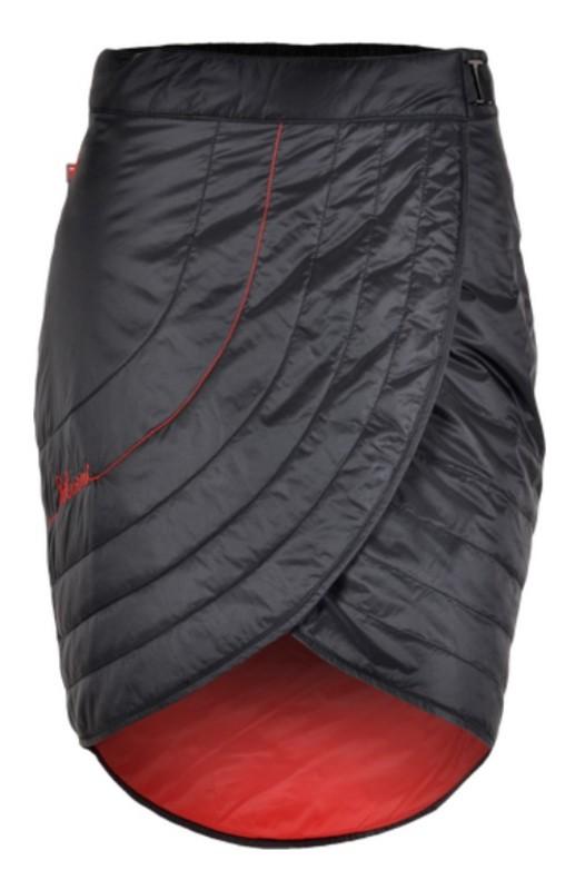 Dámska převleková sukňa Silvini Ballon WS1106 black-red XL