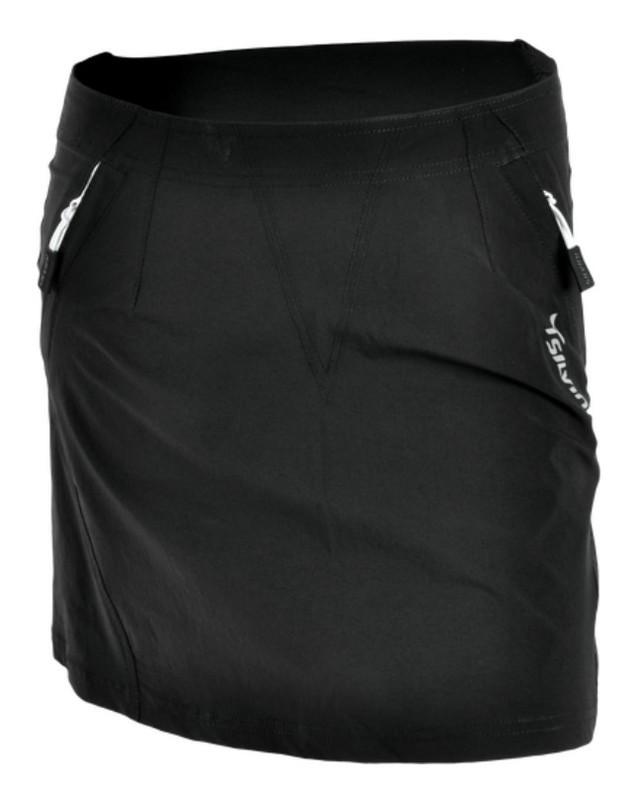 Dámska cyklistická sukňa Silvini INVIO WS859 black-white S