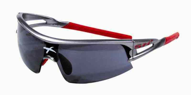 Okuliare SH+ RG-4600 SF Gun Metal/Red