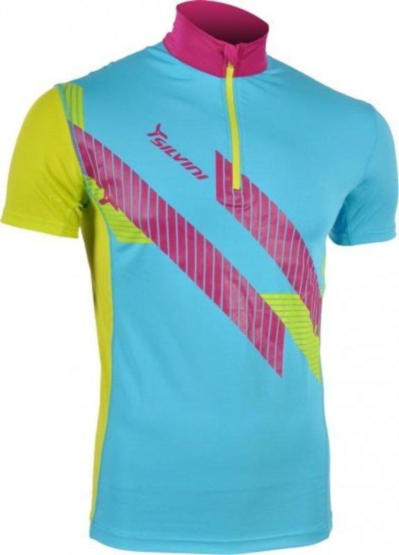 Pánsky cyklistický dres Silvini Fino MD367 blue