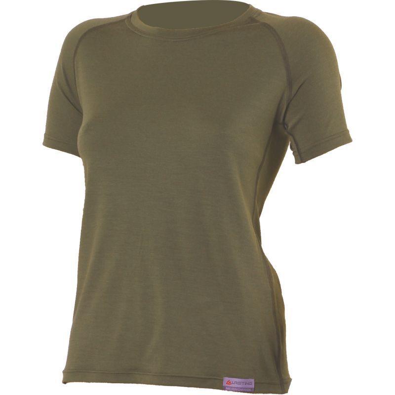 Merino triko Lasting ALEA 6363 zelené S