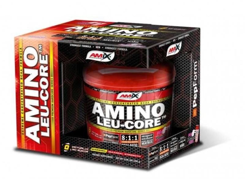 Amix Amino LEU-CORE ™ 8:1:1, 390g - Fruit punch