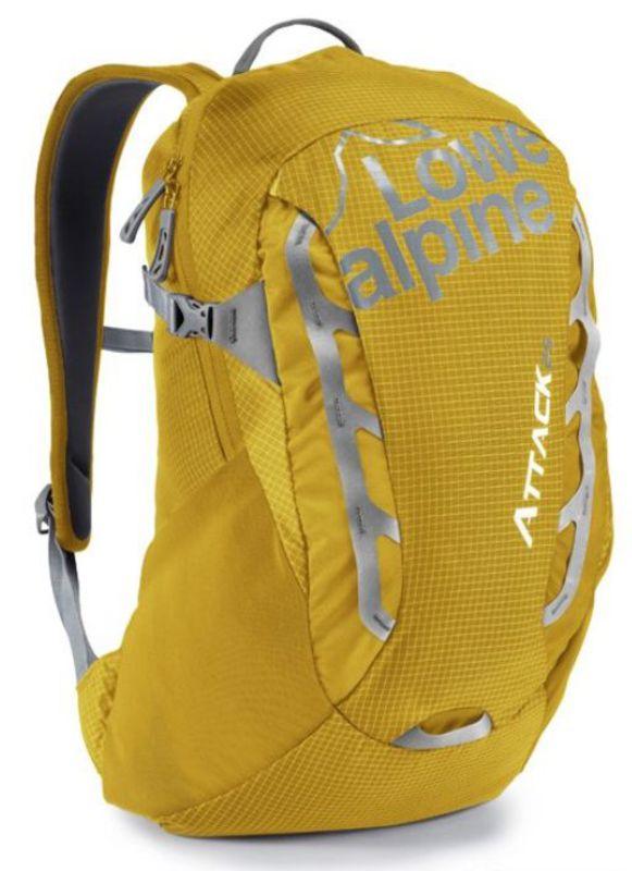 Batoh Lowe alpine Attack 25 Gold / zinc
