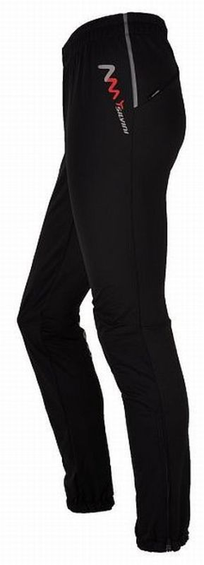 Detské softshellové nohavice Silvini Karon CP444 black