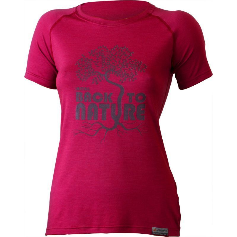 Tričko Lasting BACK 4747 ružové L