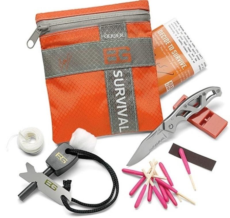 Sada pre prežitie Gerber Bear Grylls Survival Basic Kit 31-000700