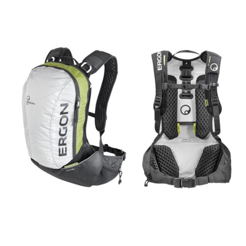 Batoh Ergon BX2 sivá / zelená - S