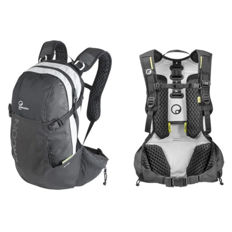 Batoh Ergon BX3 čierna / šedá - S