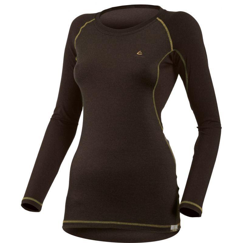 Termo triko Lasting DITA 9072 čierne vlnené XL