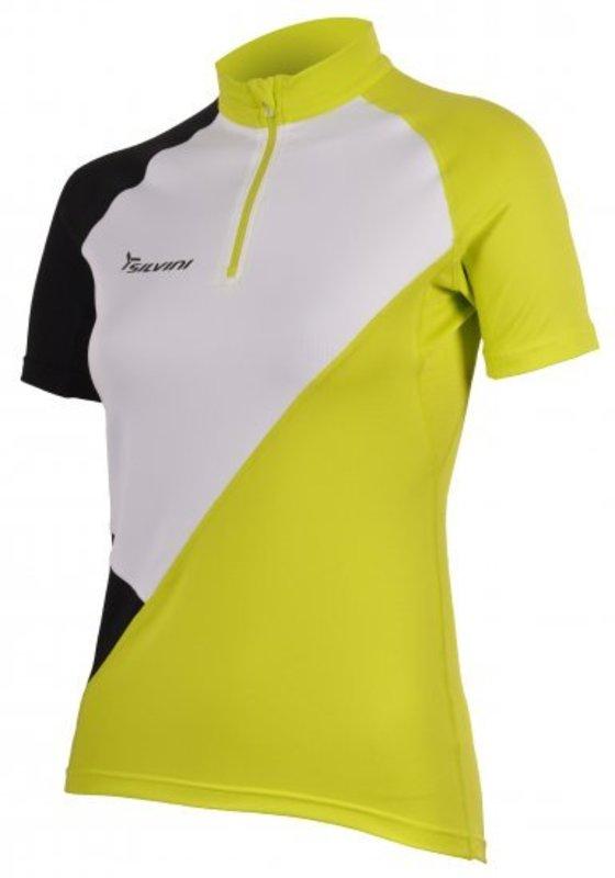 Dámsky cyklistický dres Silvini Tirino WD382 white-green