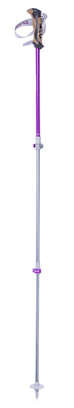 Trekové palice Pinguin Ascent FL Cork Violet
