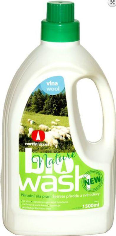 Biowash Gél na vlnu z mydlových orechov 1,5 l