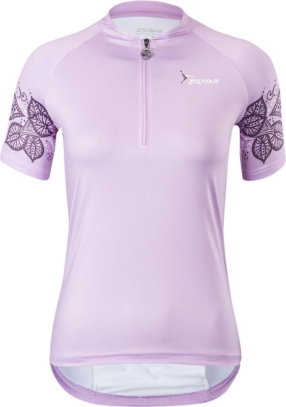 Dámsky cyklodres Silvini Sabatini WD1625 lilac