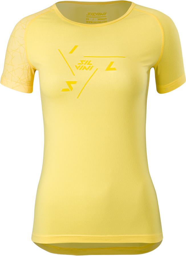 Dámske cyklo triko Silvini Giona WD1629 yellow