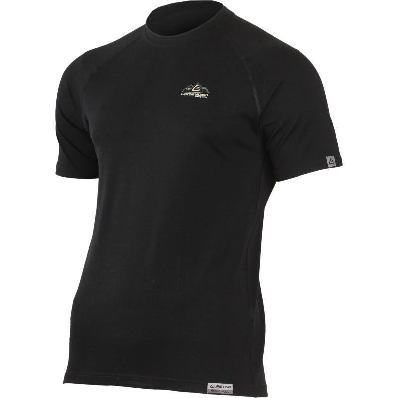 Tričko Lasting KAREL 9090 čierne L