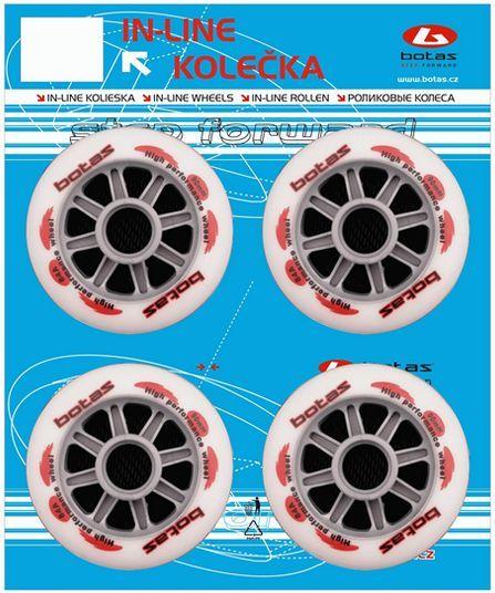 In-Line kolieska Botas 90mm/84 A ND80922-0-090