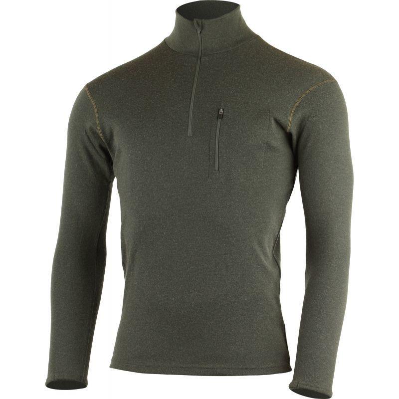 Pánske merino triko Lasting Brendy 6969 zelená S