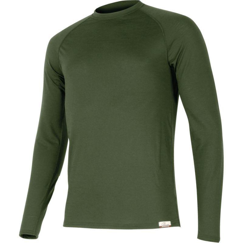 Pánske merino triko Lasting ATAR 6262 zelené XL