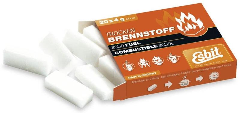 Tablety pevného liehu Esbit 20x4 g 00102000