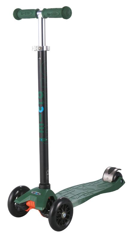 Kolobežka Maxi Micro T camo green