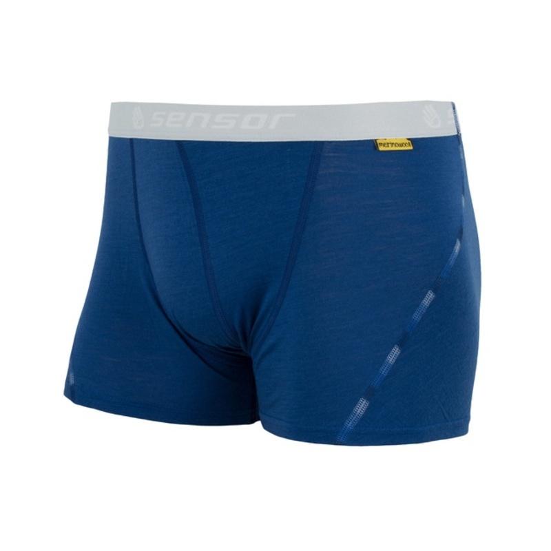 Pánske boxerky Sensor MERINO AIR tmavo modré 17200008 S
