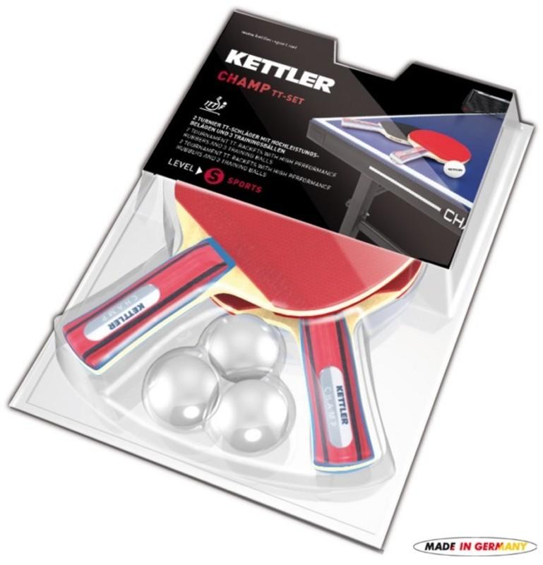 Set pálok a loptiček na stolný tenis Kettler CHAMP 7091-700
