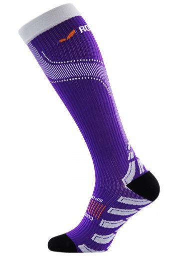 Kompresný podkolienky ROYAL BAY® Neon Violet 4099