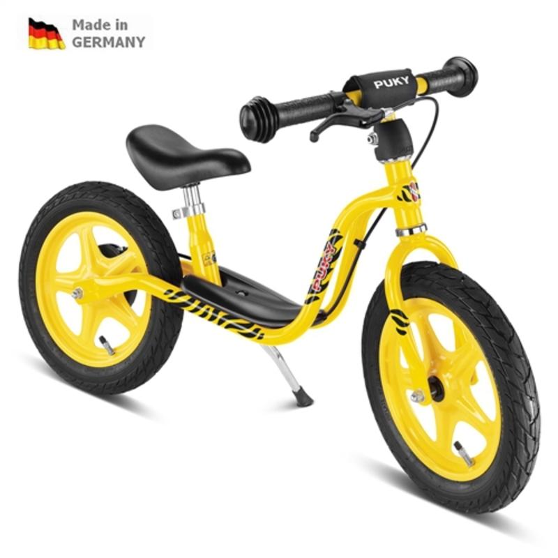Odrážadlo s brzdou PUKY Learner Bike LR 1 BR - žltá tiger