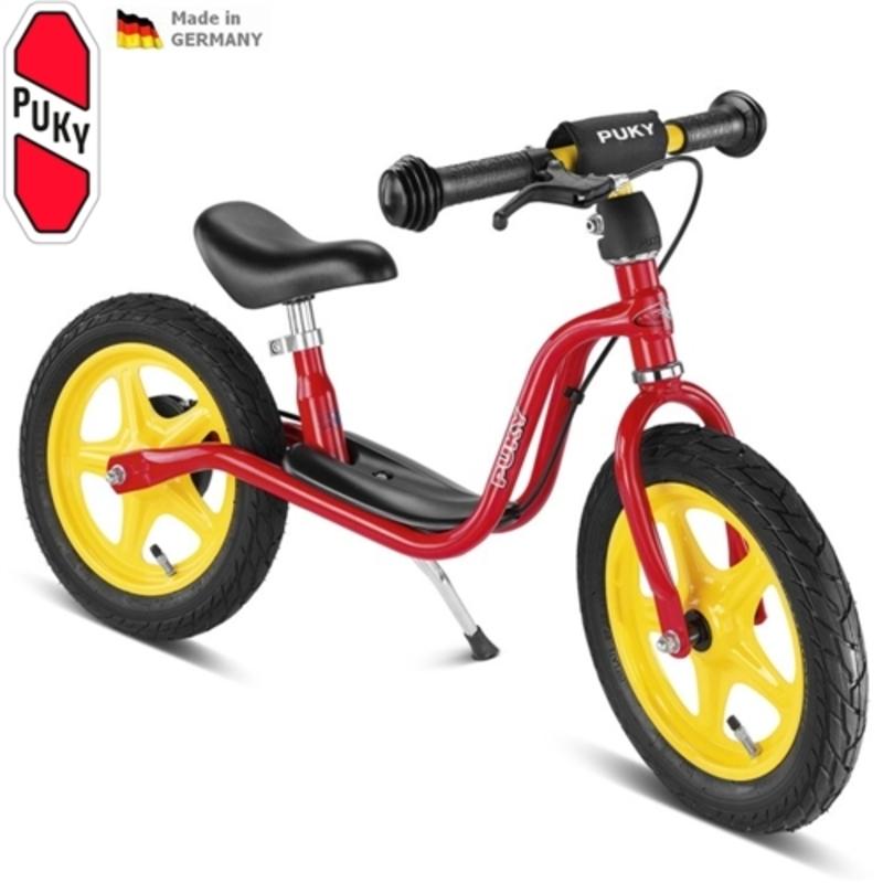 Odrážadlo s brzdou PUKY Learner Bike LR 1L BR červené