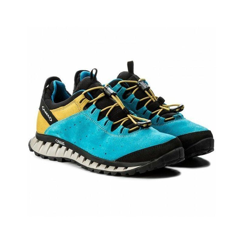 Topánky AKU CliMatic SUEDE GTX modrá 230109bf012