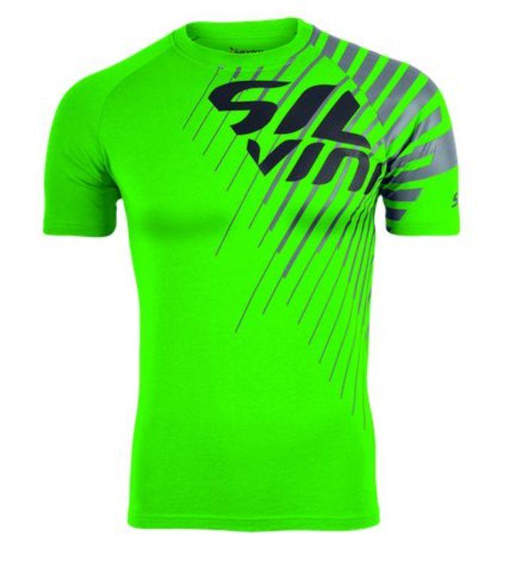 Pánske triko Silvini PROMO MT517 green XXXXL