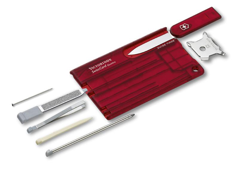 Nôž Victorinox SwissCard Quattro 0.7200.T