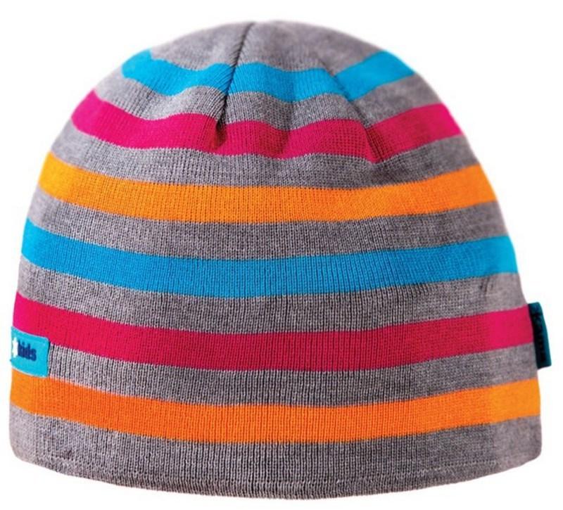 Detská pletená čiapka Kama B70 109 sivá