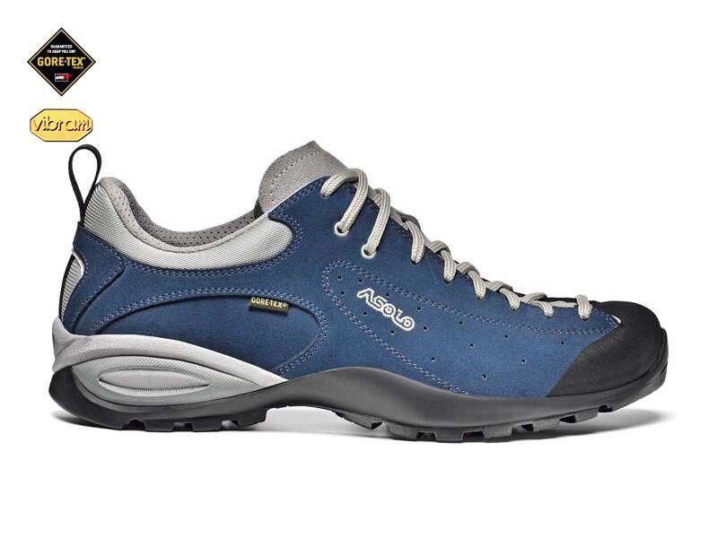 Topánky Asolo Shiver GV GTX A697 modrý denim