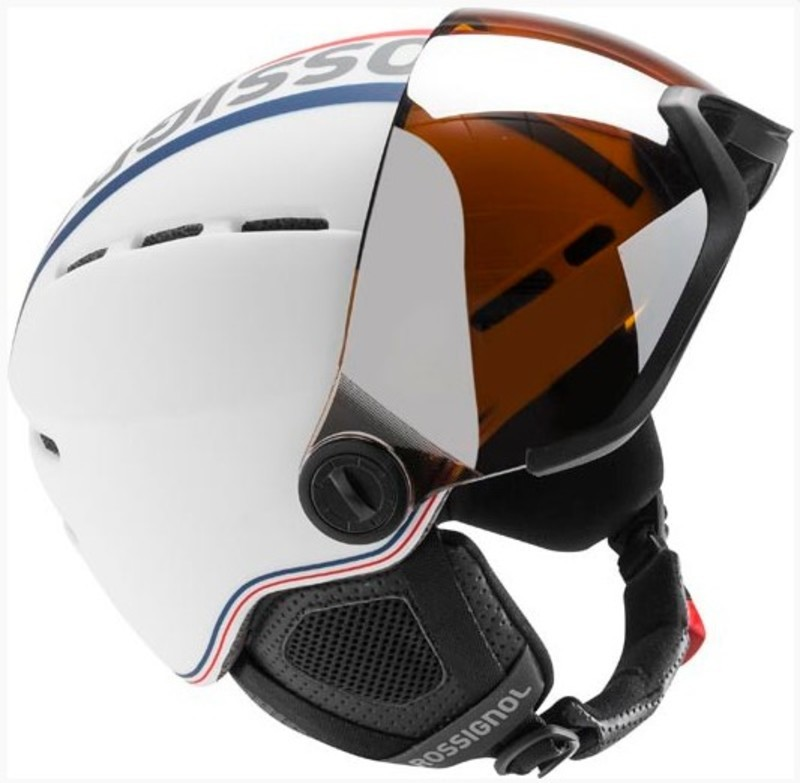 Lyžiarska helma Rossignol Visor-Single Lense white RKFH201