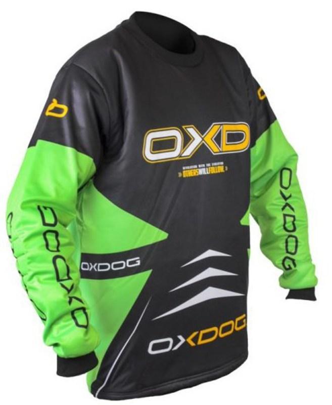 Brankársky dres Oxdog VAPOR GOALIE SHIRT black / green